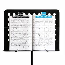 Paper Holder Clips 2019 15cm Plastic Music Score Fixed Clips Book Paper Holder For