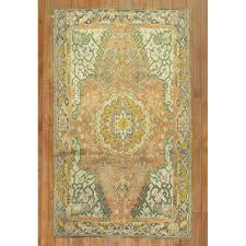 orange oushak rug