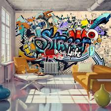 great graffiti wall art for bedroom
