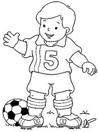 Small Picture Soccer Coloring pages for Soccer Lovers