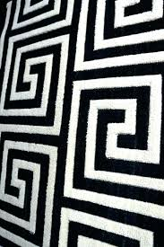 fancy black and white geometric rug medium ze of area witching resort rm rugs chequers bath