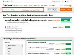 How To Buy A Domain How To Buy Domain Name From Godaddy Domain Registrar