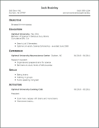 Sample Of Good Resume Good And Bad Resume Examples Test Manager