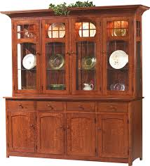 Amish Cabinet Doors Sonoma Mission 4 Door China Cabinet Countryside Amish Furniture