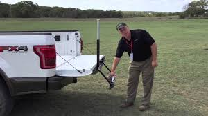 2015 Ford F-150 - Tailgate Step Demonstration - YouTube