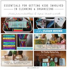 simple ideas to organize the family for summer clean mama essentials for getting the kids involved in cleaning printables and tips that work