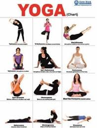 Yoga Chart Buy Yoga Chart By Na At Low Price In India Flipkart Com