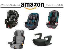 20 car seats on for under 150