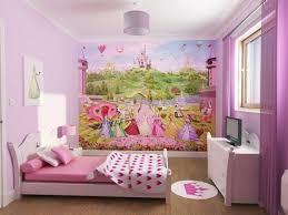 Sweet Interior Room Design For Teen Girls Princess Theme Bedroom Interior  Design Cute Decoration Cinderella Wallpaper Girly Decoration For Child Girl  ...