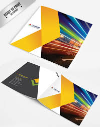 Brochure Templates For It Company 15 Free Corporate Bifold And Trifold Brochure Templates