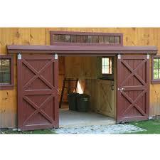 barn sliding garage doors. Accesories \u0026 Decors Barn Transom Windows Over Wooden Sliding . Garage Doors U
