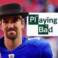 26 Best Memes of Eli Manning & New York Giants Crushed by the ... via Relatably.com