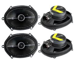 speakers car. kicker 41dsc684 d-series 6x8-400 watt 2-way 4-ohm car speakers p