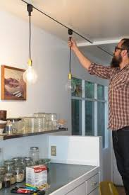 pendant lighting plug in. Say Goodbye To Dated Track Lighting With This Easy DIY Pendant Plug In