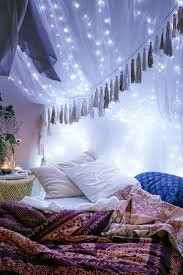 Best String Lights Bedroom Ideas Collection With Twinkle For Pictures