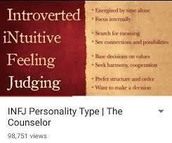 infj personality infj personality infj thought infj life infj tough deartheworlds