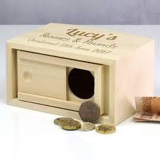 personalised christening gift money box
