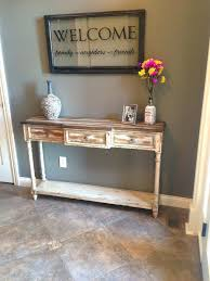foyer furniture. Small Entryway Chairs Foyer Furniture Ideas Our Rustic Table