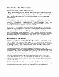 18 Sample Letters Of Recommendation For Nurse Colleague