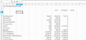 Home Construction Estimator Excel House Construction Estimate Template Residential Or Home