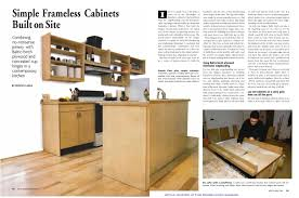 Frameless Kitchen Cabinet Manufacturers How To Build Cabinets Diyrepairguides Build Kitchen Cabinets