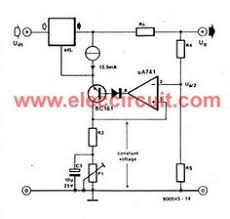 high current adjustable power supply circuit 0 30v 20a electronic 3 the outside controller by lm741 op amp