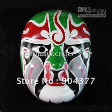 Mask Decorating Ideas Green Masquerade Masks Decorating Ideas Full Face Paper Mache 13