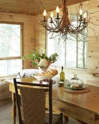 warm wonderful eating area