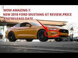 2018 ford order dates. wonderful 2018 2018 ford mustang gt review and release date with ford order dates
