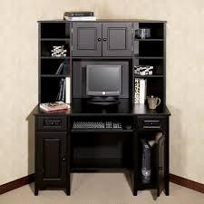 home office desk black. Corner Desk With Hutch Auston Black Home Office K