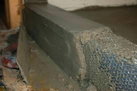shower pan liner mortar mix how to build a tile curb thickness slope concrete mixture