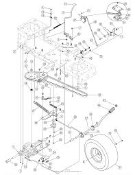 Troy bilt 13an779g766 pony 2005 parts diagram for steering best troy bilt pony deck spring diagram