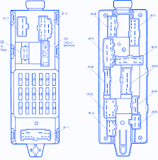 mazda on engine fuse box block circuit breaker diagram mazda 323 1991 on engine fuse box block circuit breaker diagram