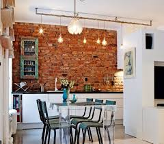 classy interiors with brick walls exposed