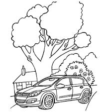 Autos Kleurplaten Leuk Voor Kids