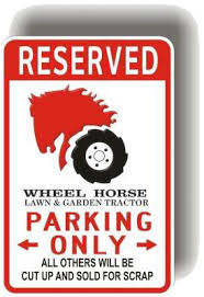 wheel horse tractor manual owner manual part list wiring mwh