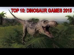 top 10 best dinosaur games