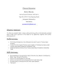 dance resumes template dance resume for college application dance dance resumes template dance resume for college application dance pertaining to dance resume format