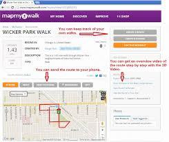 using map my walk – chicago neighborhood walks