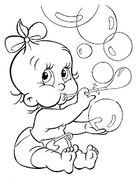 Get crafts, coloring pages, lessons, and more! Free Printable Coloring Pages Of Babies Coloring Home
