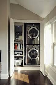 Mooi Idee Om Je Wasmachine In Een Kast Weg Te Werken Foto