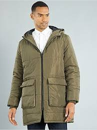 Quilted jacket Men size s to xxl | Kiabi & Quilted jacket - Long quilted padded jacket - Kiabi Adamdwight.com