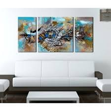 canvas art set of 3 hand painted 3 piece gallery big city canvas wall art set on hand painted canvas wall art uk with canvas art set of 3 free shipping 3 piece art sets flower wall