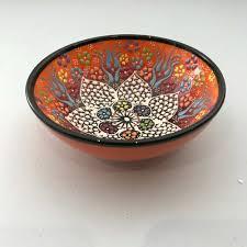 Ceramic Bowl Designs Ceramic Bowl 15 Cm Orange