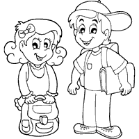Small Picture Back To School Coloring Pages Surfnetkids