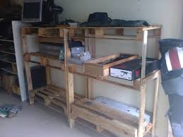 Shelves Made From Pallets Wood Pallet Storage Shelving Cheap 5 Steps With Pictures