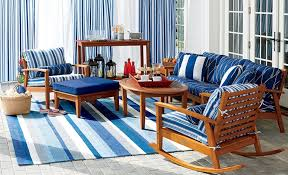 nautical inspired furniture. Great Nautical Patio Decor Adding Inspired Outdoor Cushions, Pillows And Rugs As Well Furniture
