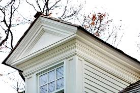 the close up of the dormer shows