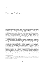 3 Emerging Challenges Renewing The National Commitment To