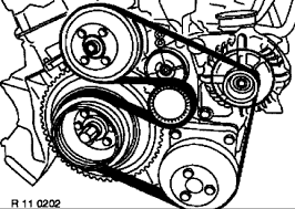 1997 bmw 528i step instruction of how to replace the alternator installation check that belt is correctly positioned on belt pulleys